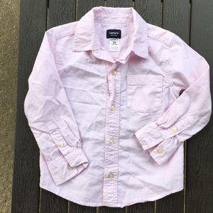 Carters sz 3T button down shirt NICE!